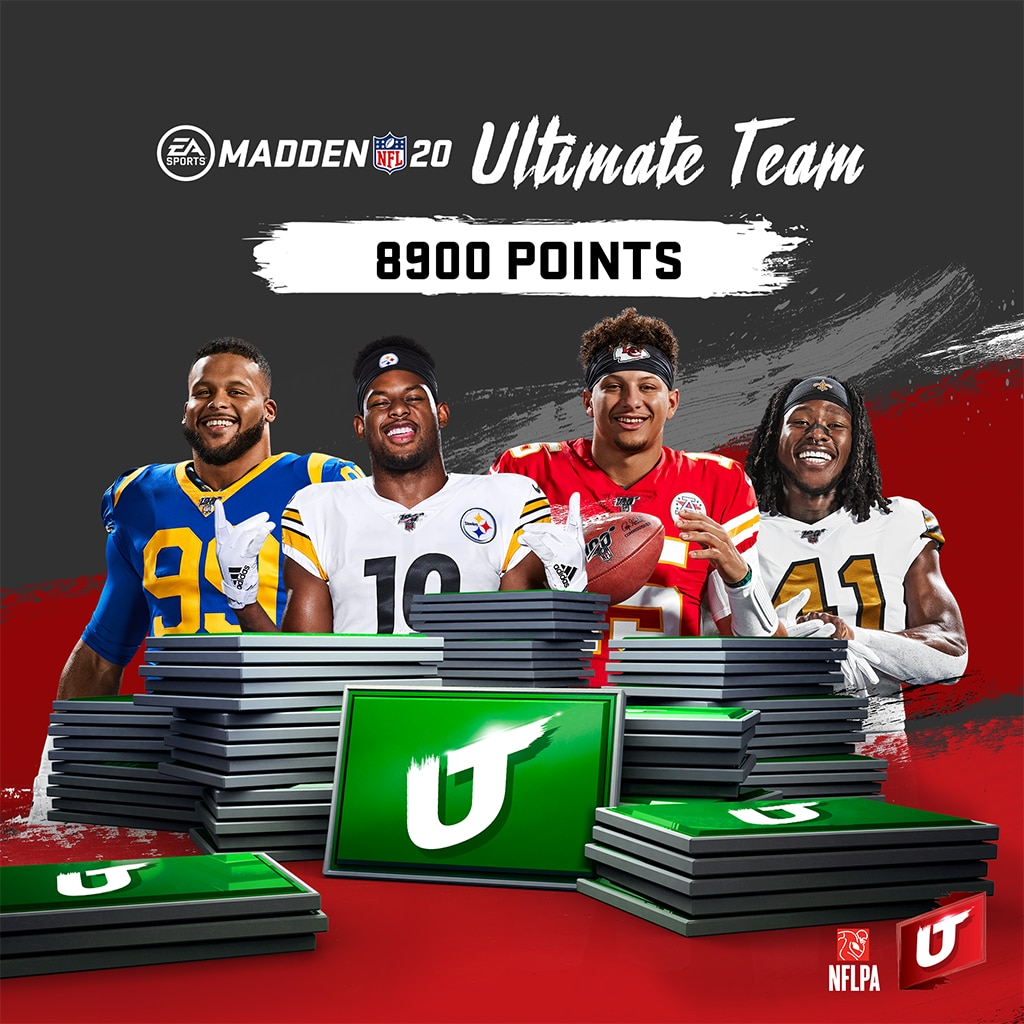 Madden NFL 20: Madden Ultimate Team 8900포인트 (영어판)