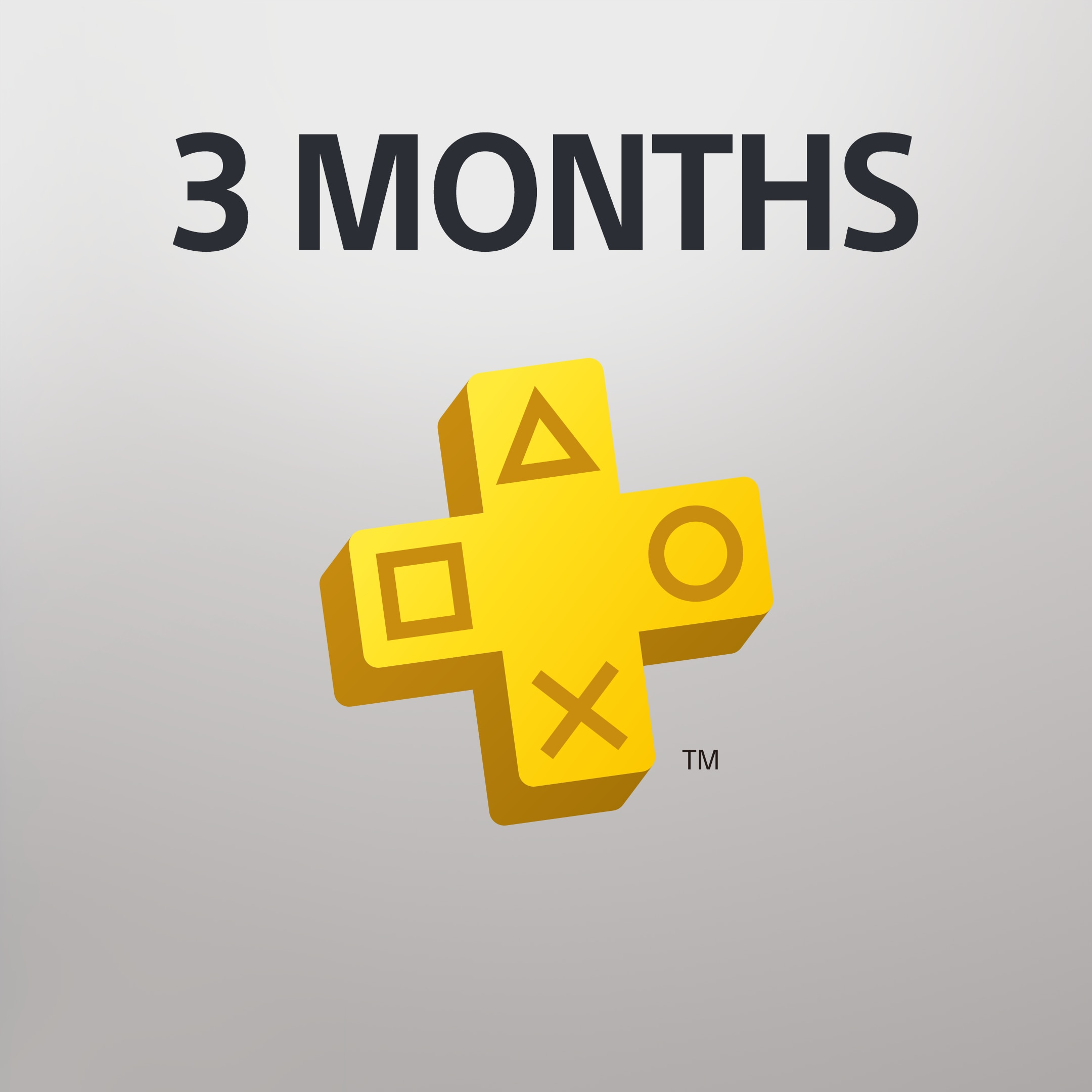 PlayStation Plus: 3 Month Membership