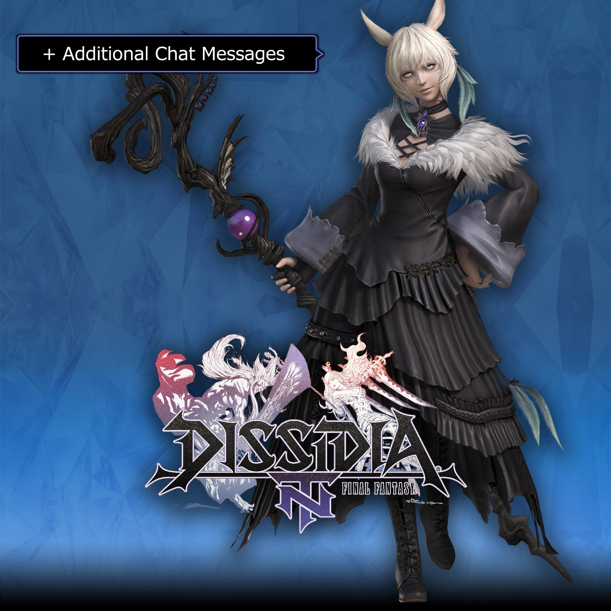 Scion Sorceress's Robe App. Set & 5th Weapon for Y'shtola