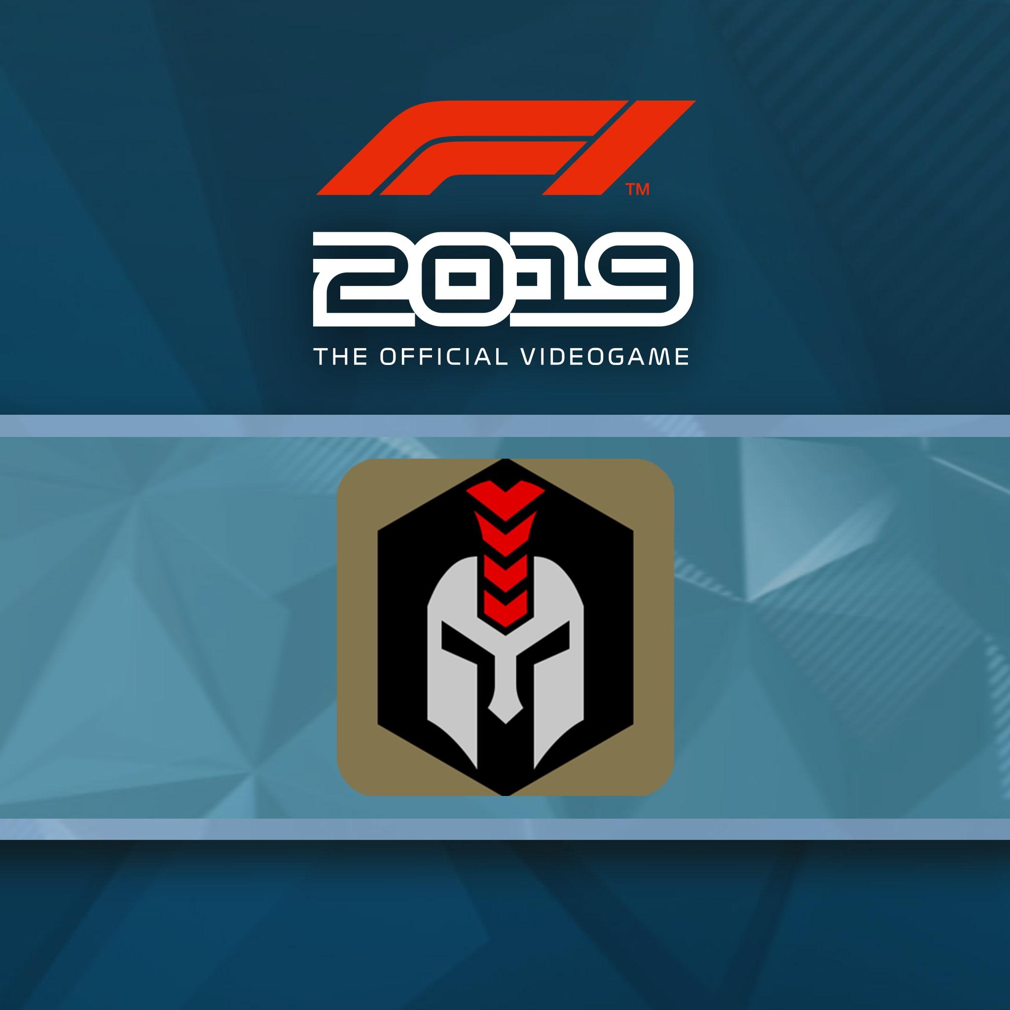 F1® 2019: Badge 'Armoured'