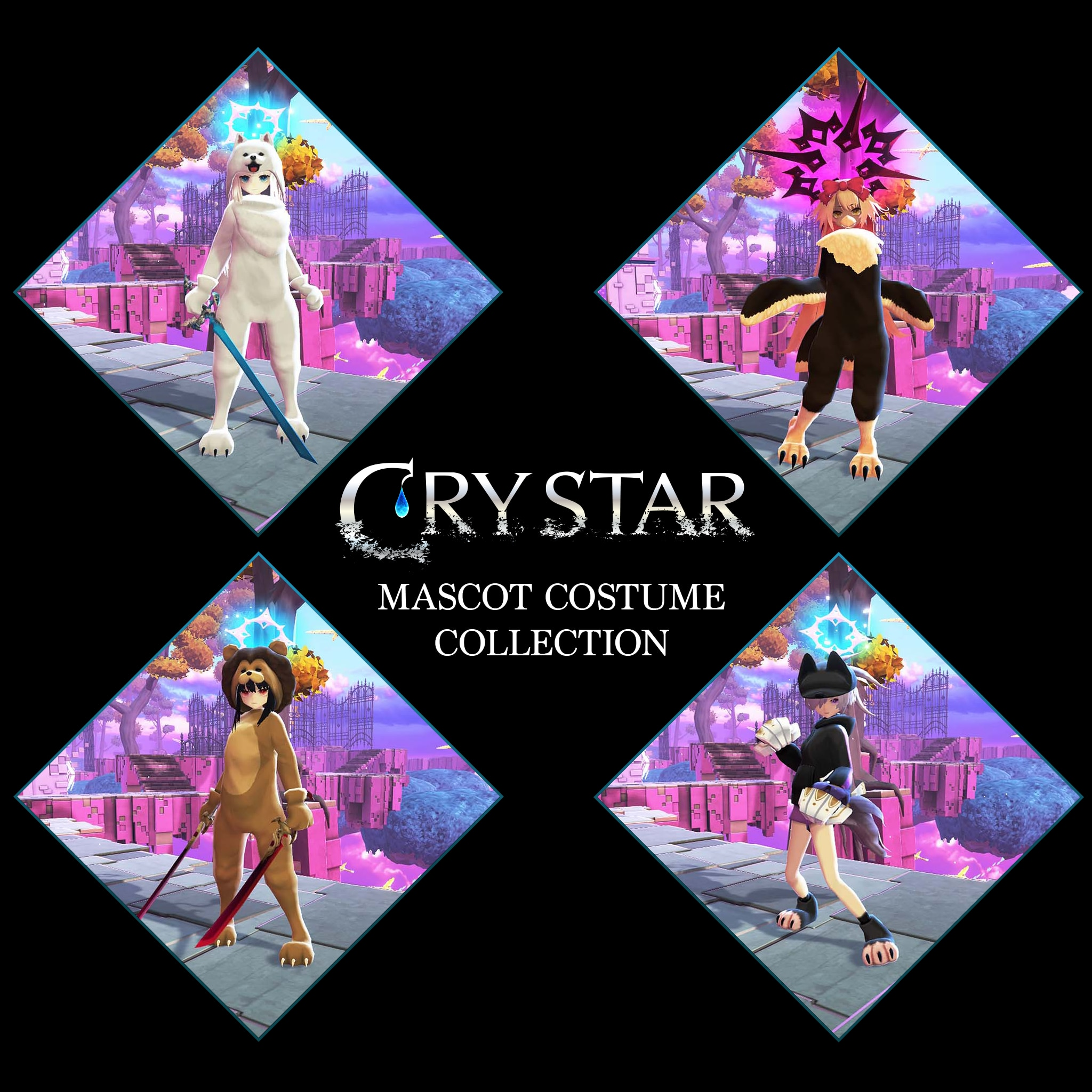 CRYSTAR Mascot Costume Collection