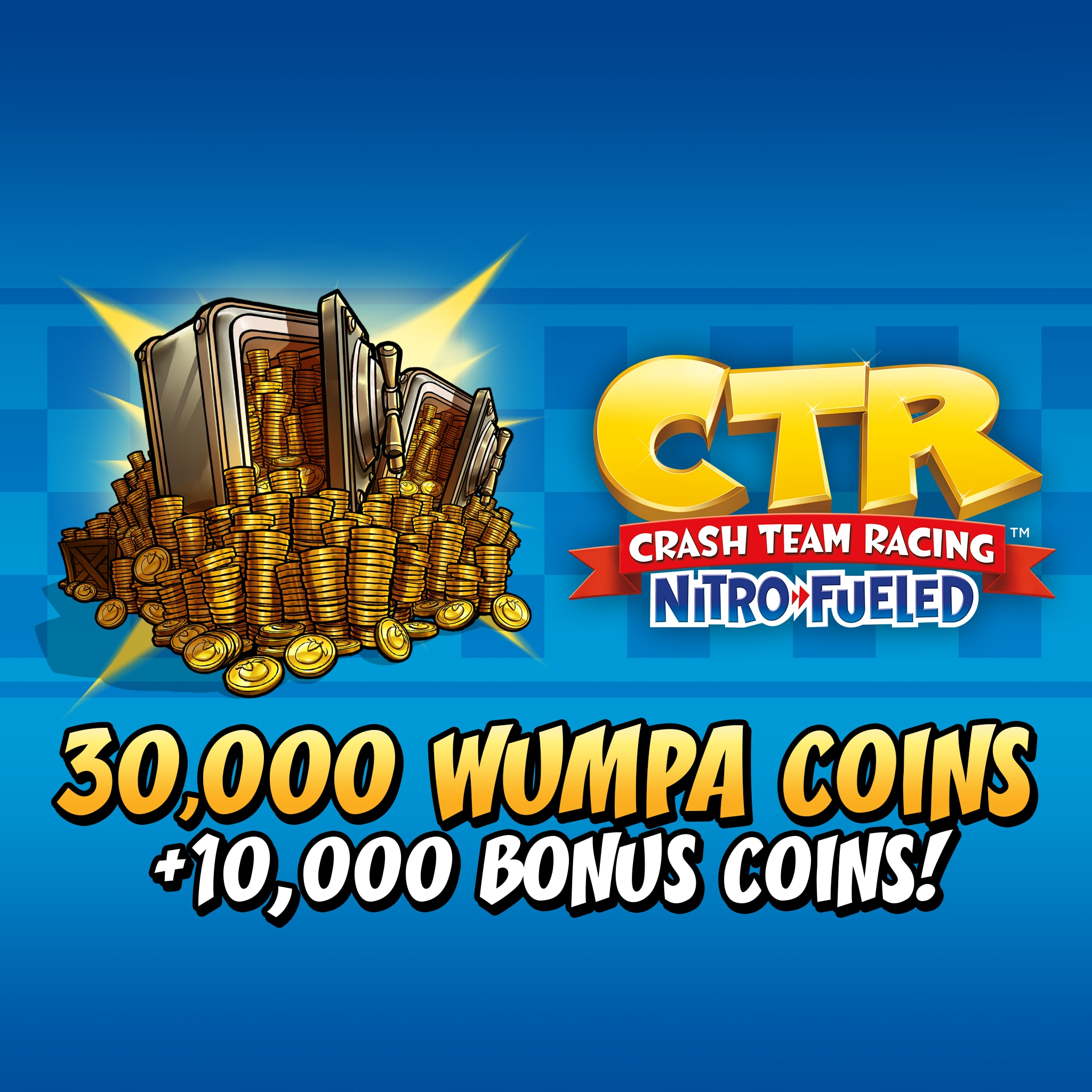 Crash™ Team Racing Nitro-Fueled - 30000 (+10000) Wumpa Coins
