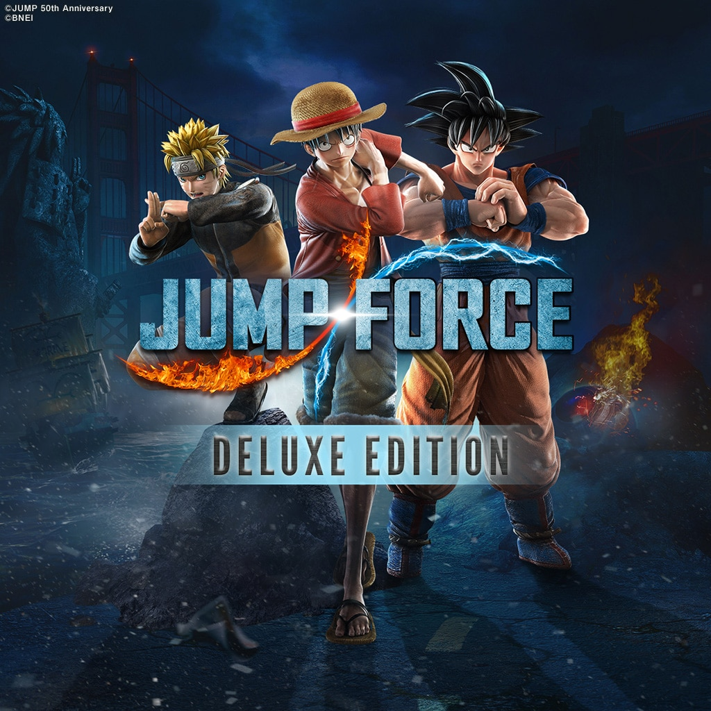 JUMP FORCE - Deluxe Edition (Simplified Chinese, Korean, Thai, Traditional Chinese)