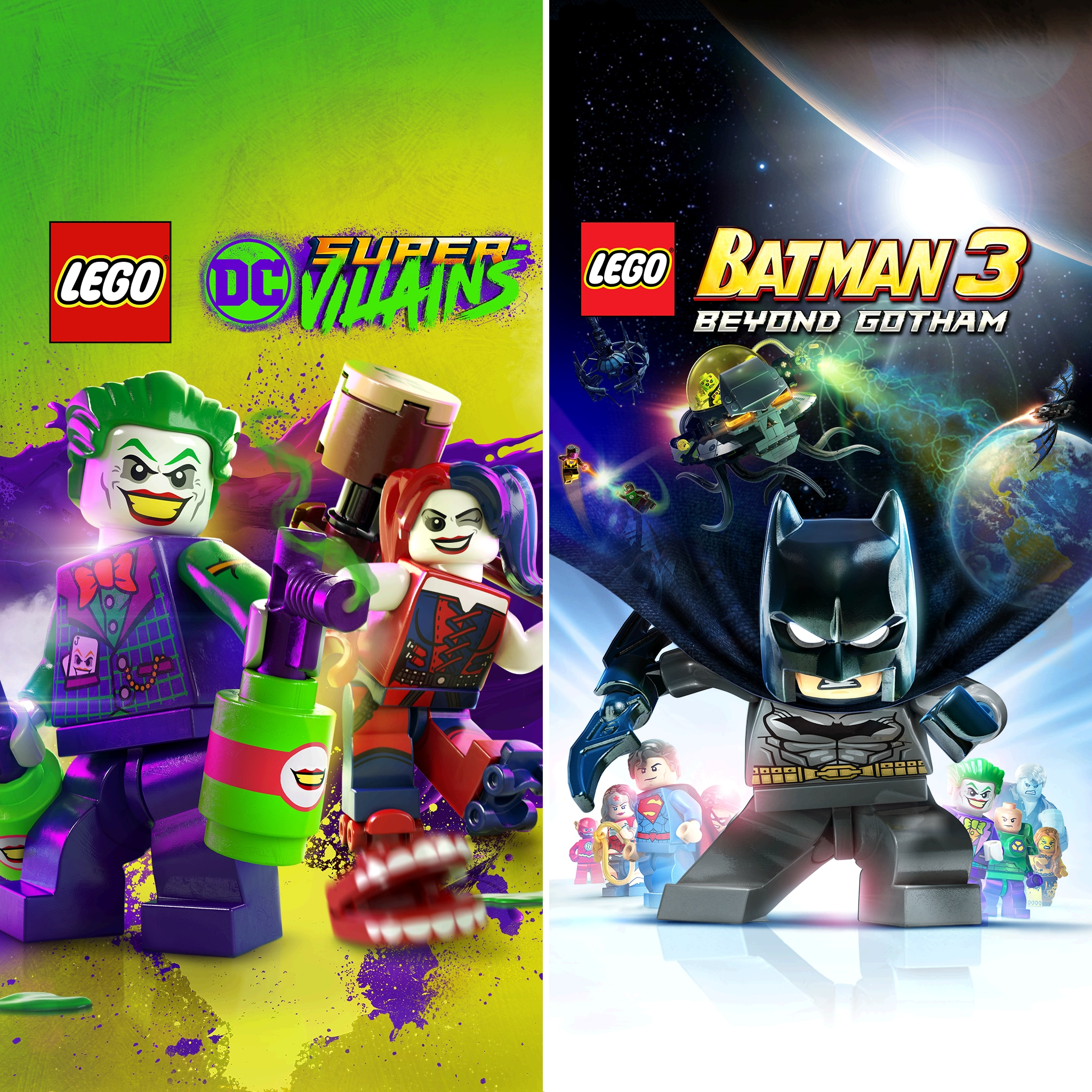 LEGO® DC Heroes & Villains Bundle