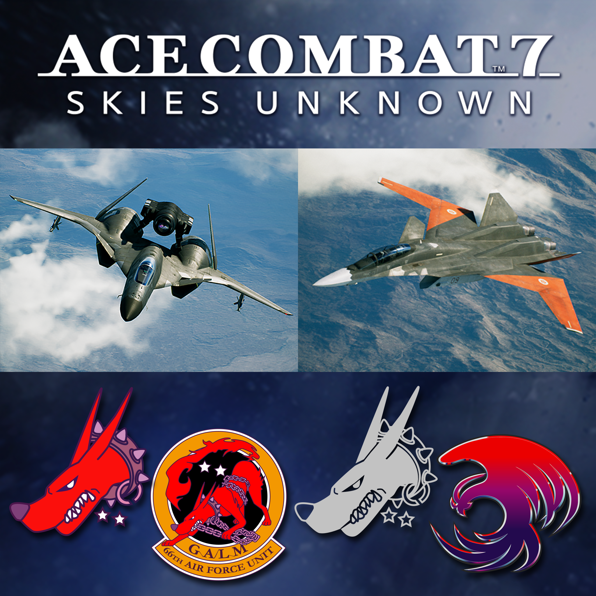 ACE COMBAT™ 7: SKIES UNKNOWN - ADFX-01 Morgan Set
