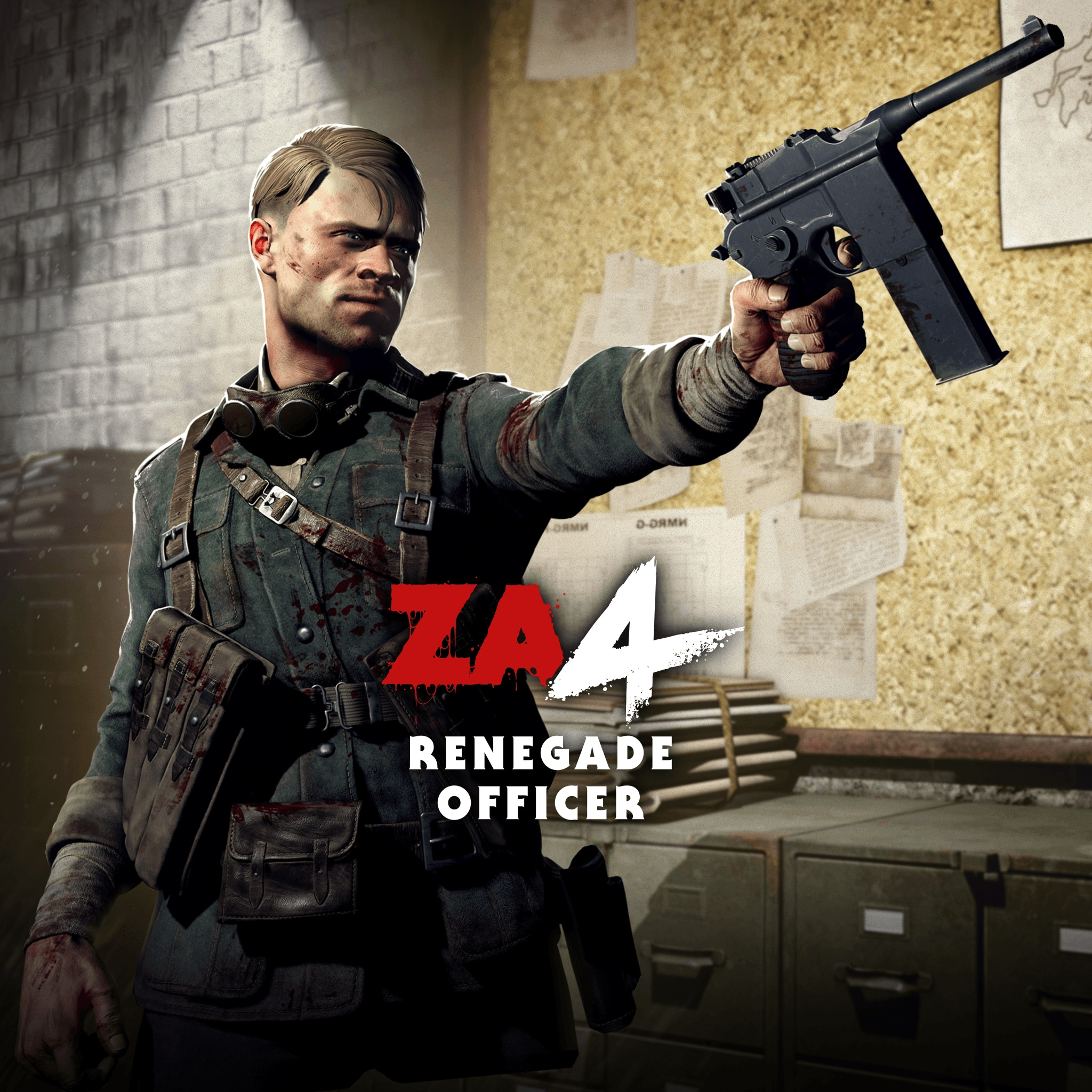 Zombie Army 4: Renegade Officer Character