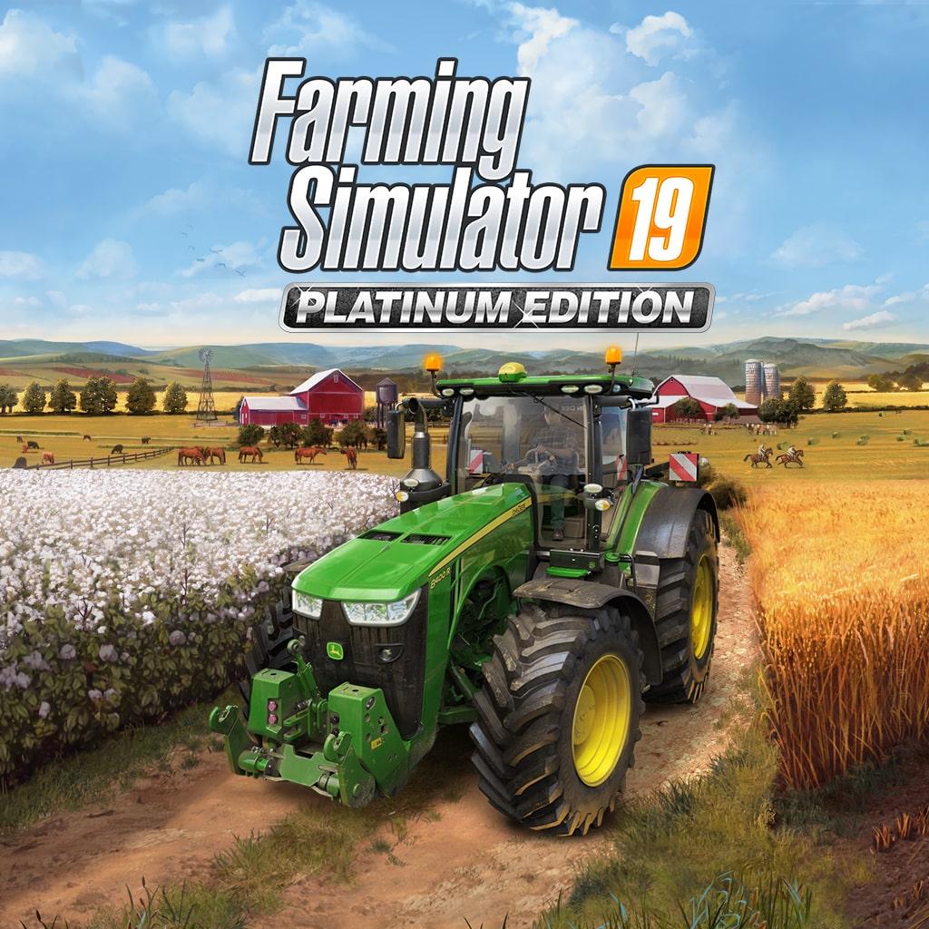 Farming Simulator 19 - Platinum Edition (Simplified Chinese, English, Korean, Traditional Chinese)