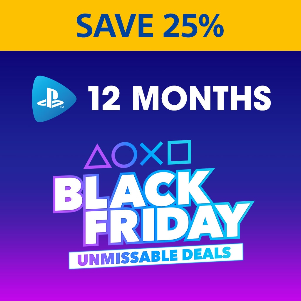 PlayStation Now: 12 Month Subscription - 25% Off