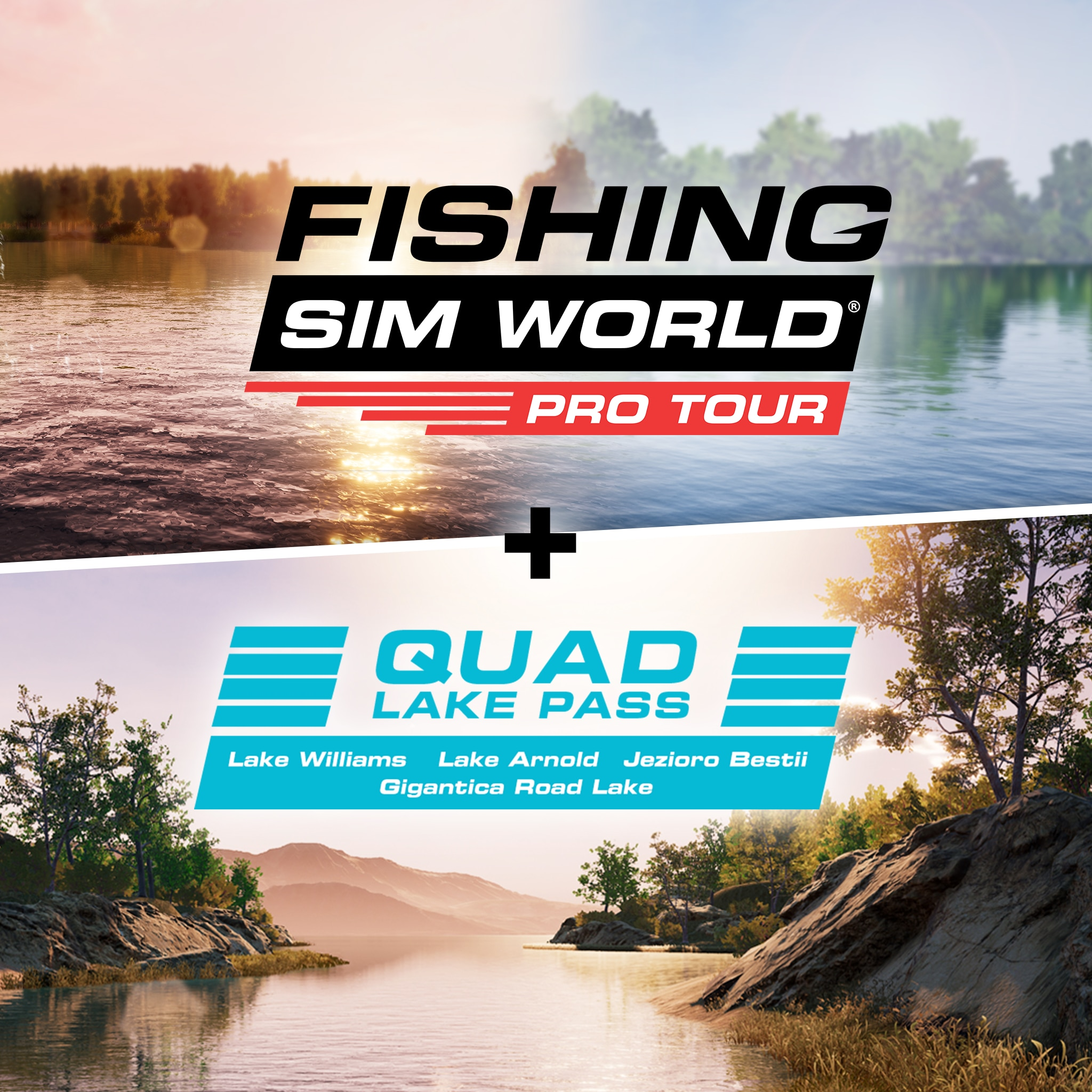 Fishing Sim World: Pro Tour + Quad Lake Pass