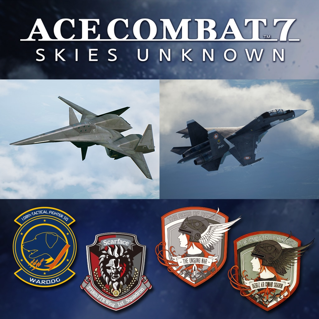 ACE COMBAT™ 7: SKIES UNKNOWN – ADF-01 FALKENセット