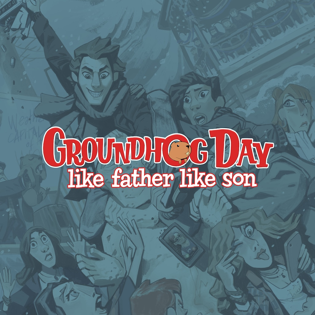 Groundhog Day: Like Father Like Son (English/Korean/Japanese Ver.)