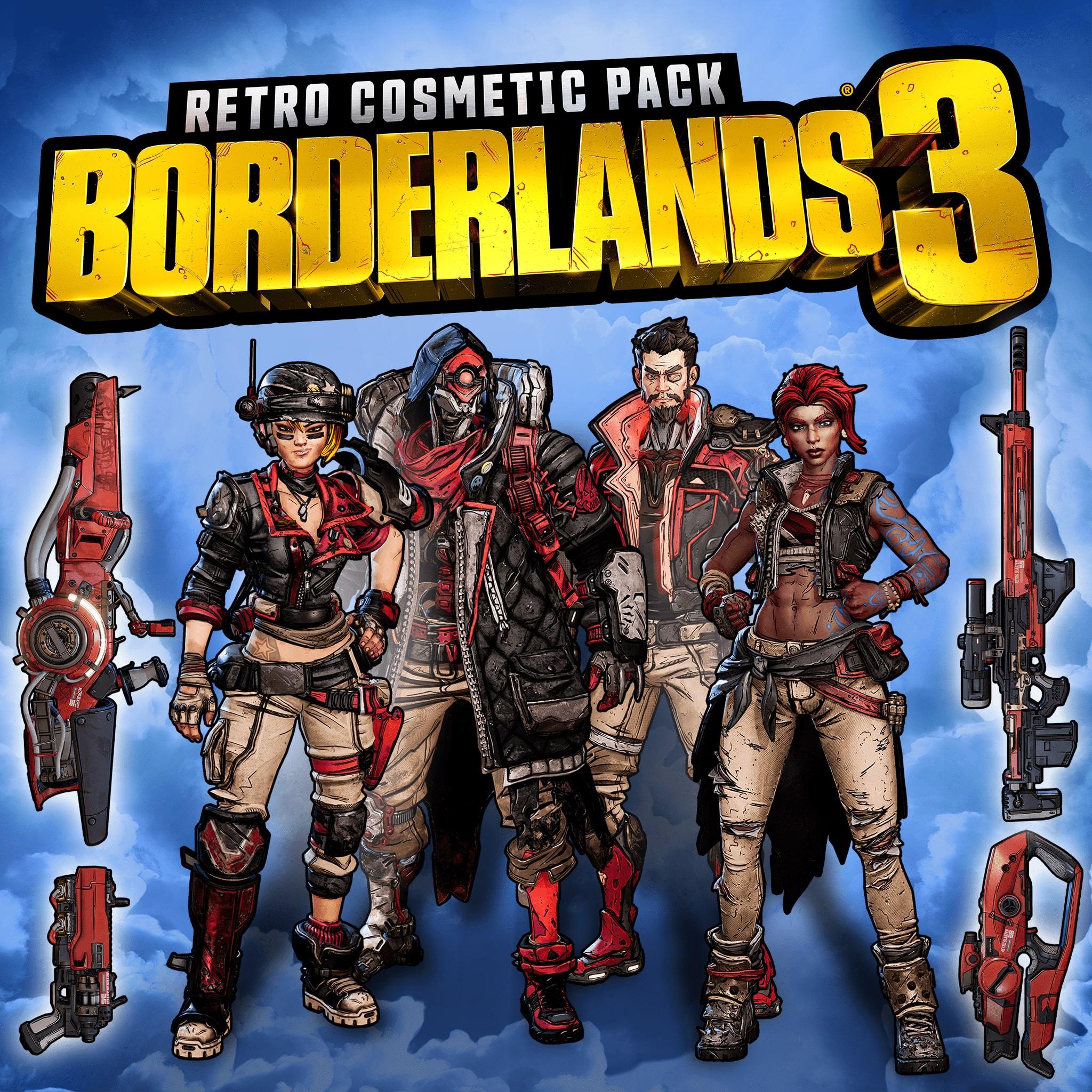 Косметический набор «Ретро» для Borderlands 3