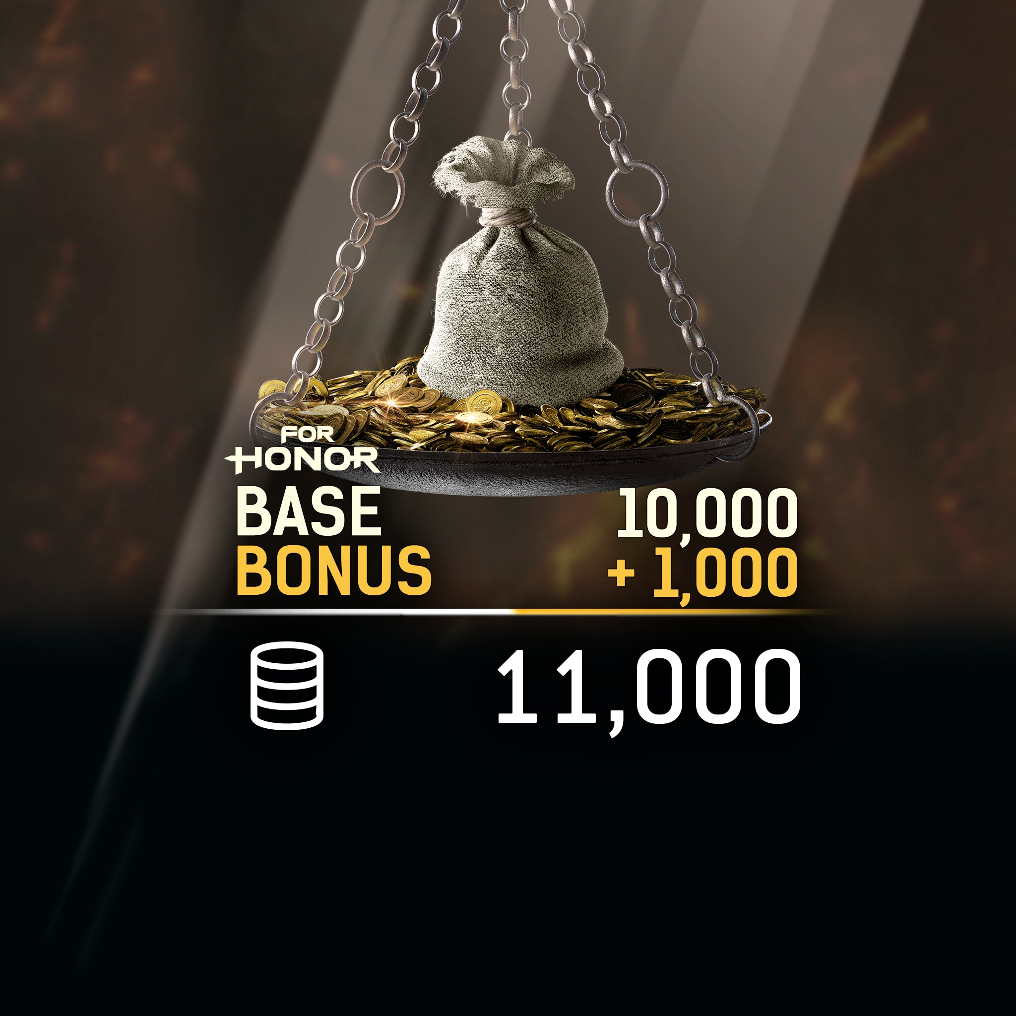 FOR HONOR™ 11 000 STEEL Credits Pack