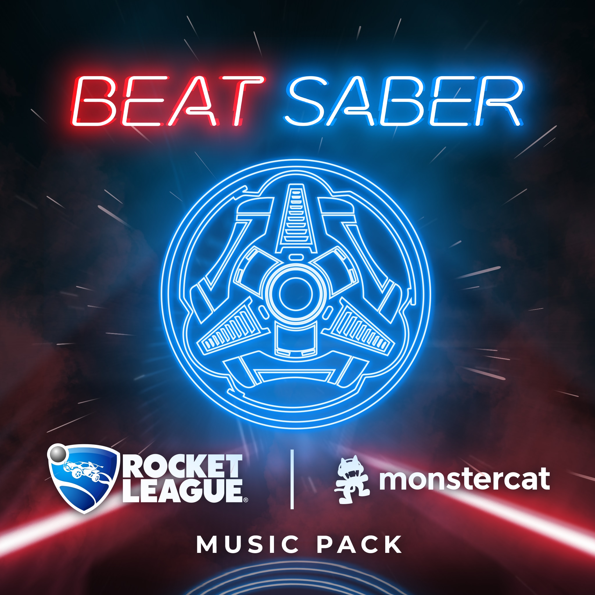 Beat Saber: Rocket League x Monstercat Music Pack