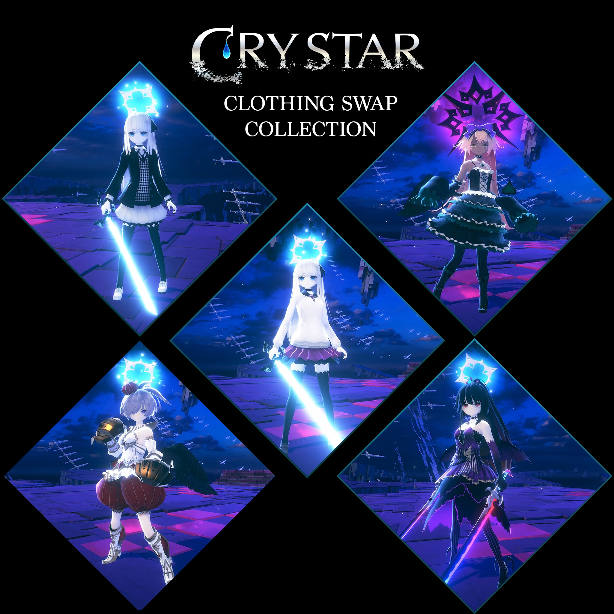 CRYSTAR Clothing Swap Collection