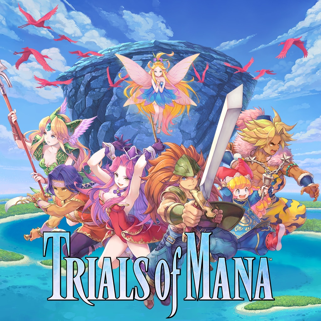 TRIALS of MANA (Simplified Chinese, Korean, Traditional Chinese)