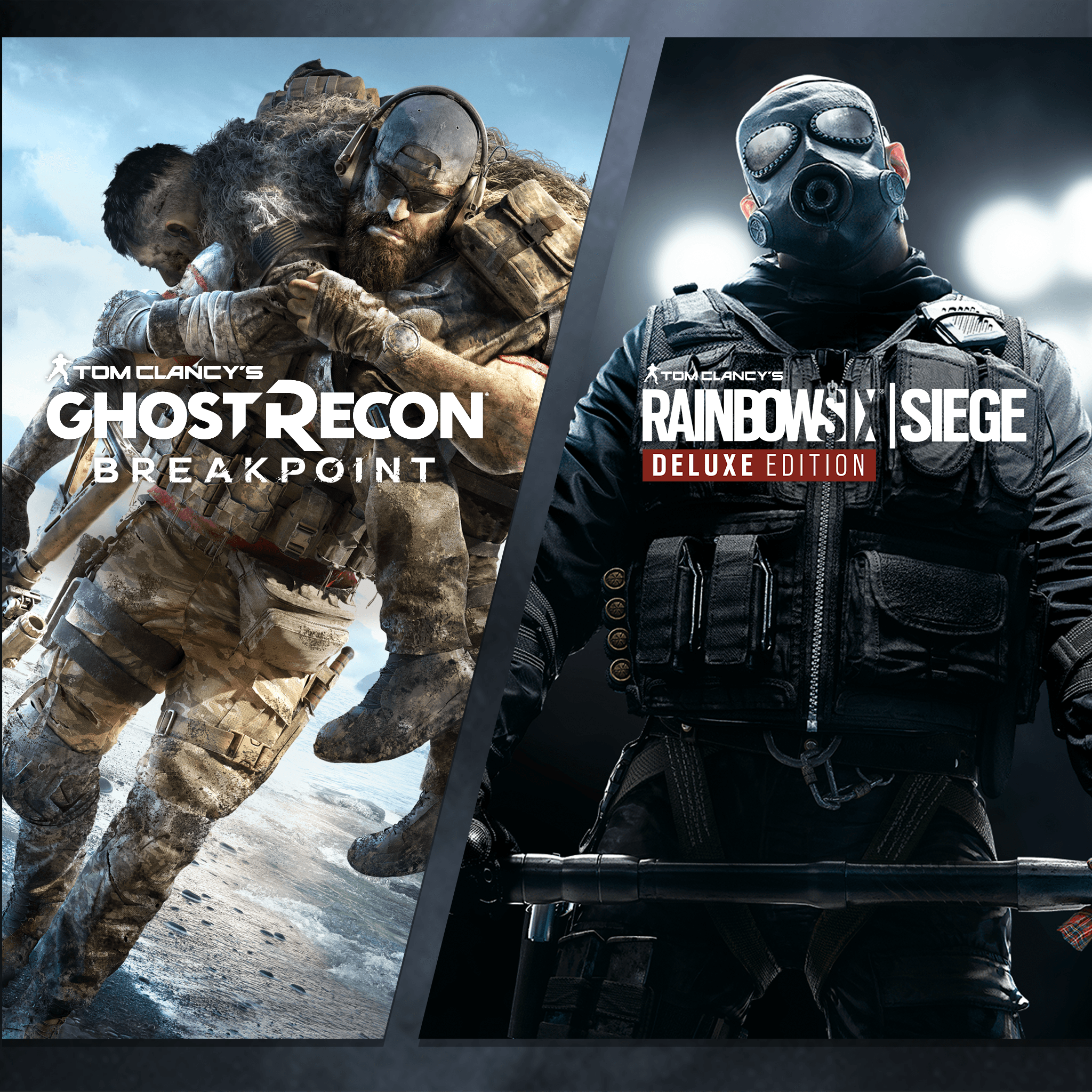 Rainbow Six Siege & Ghost Recon Breakpoint Bundle