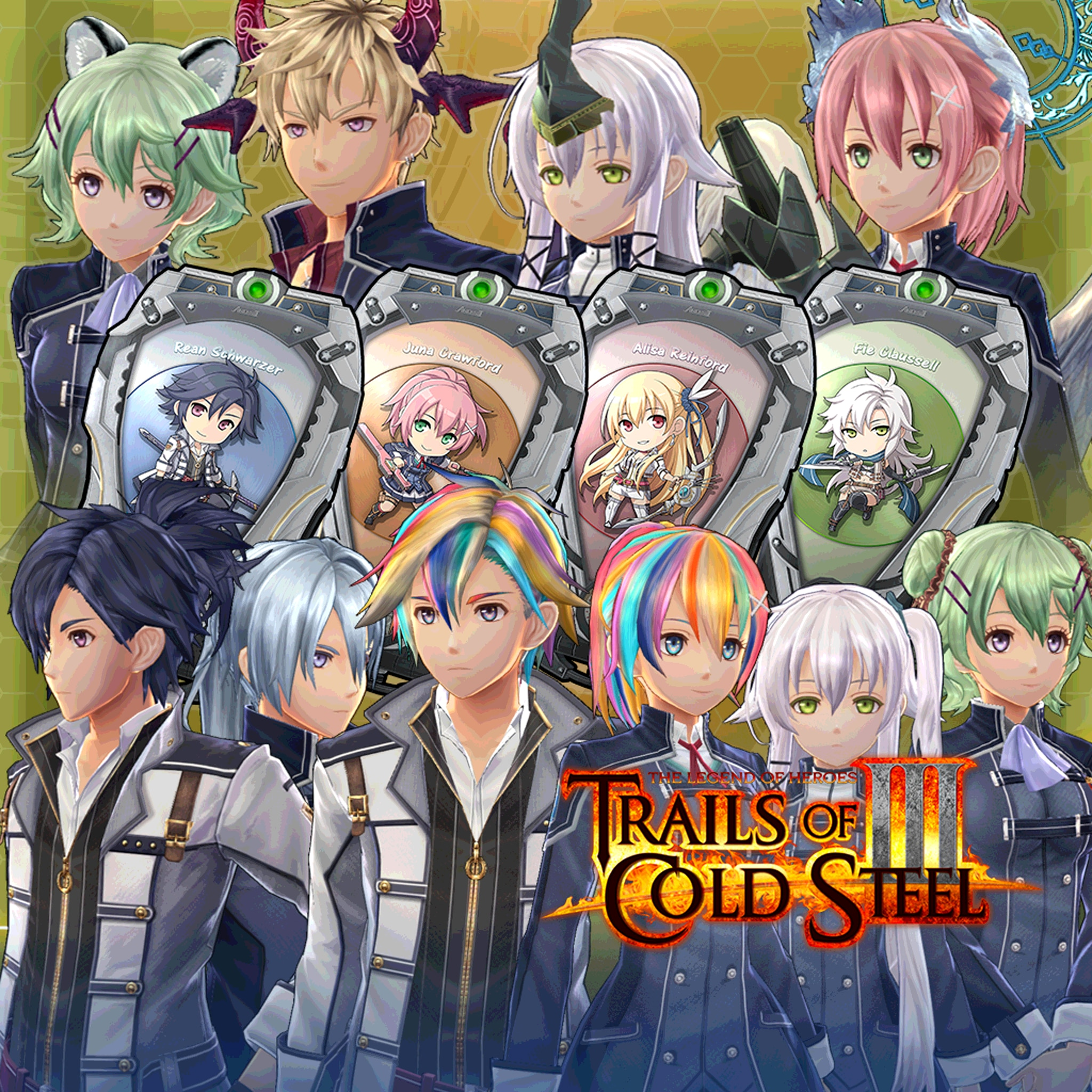 Trails of Cold Steel III: Standard Cosmetic Bundle