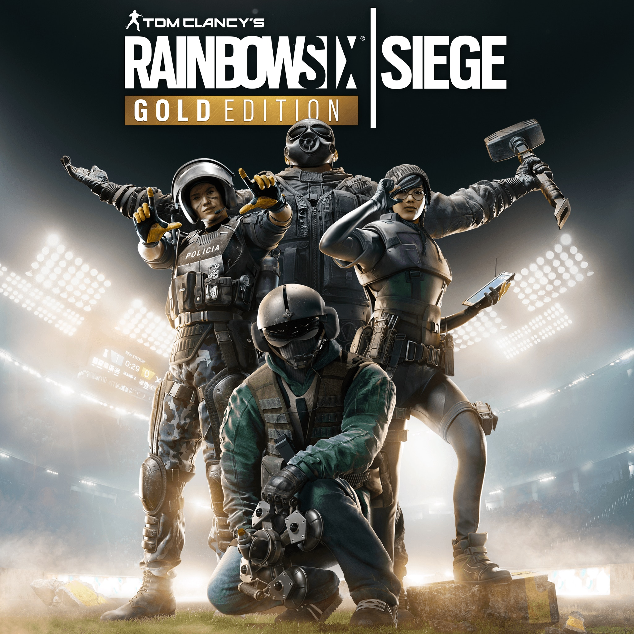 Tom Clancy's Rainbow Six® Siege Gold Edition PS4 & PS5