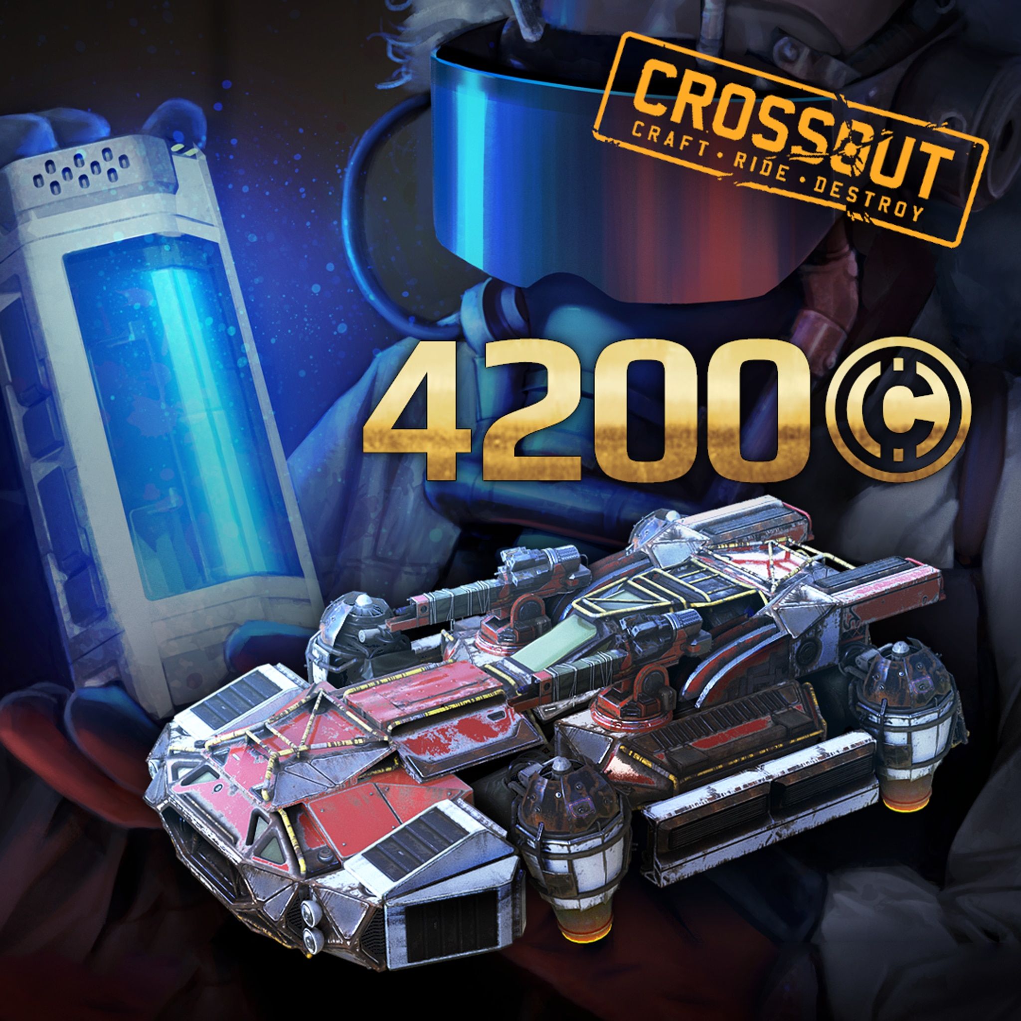 Crossout - 'The inventor' Pack