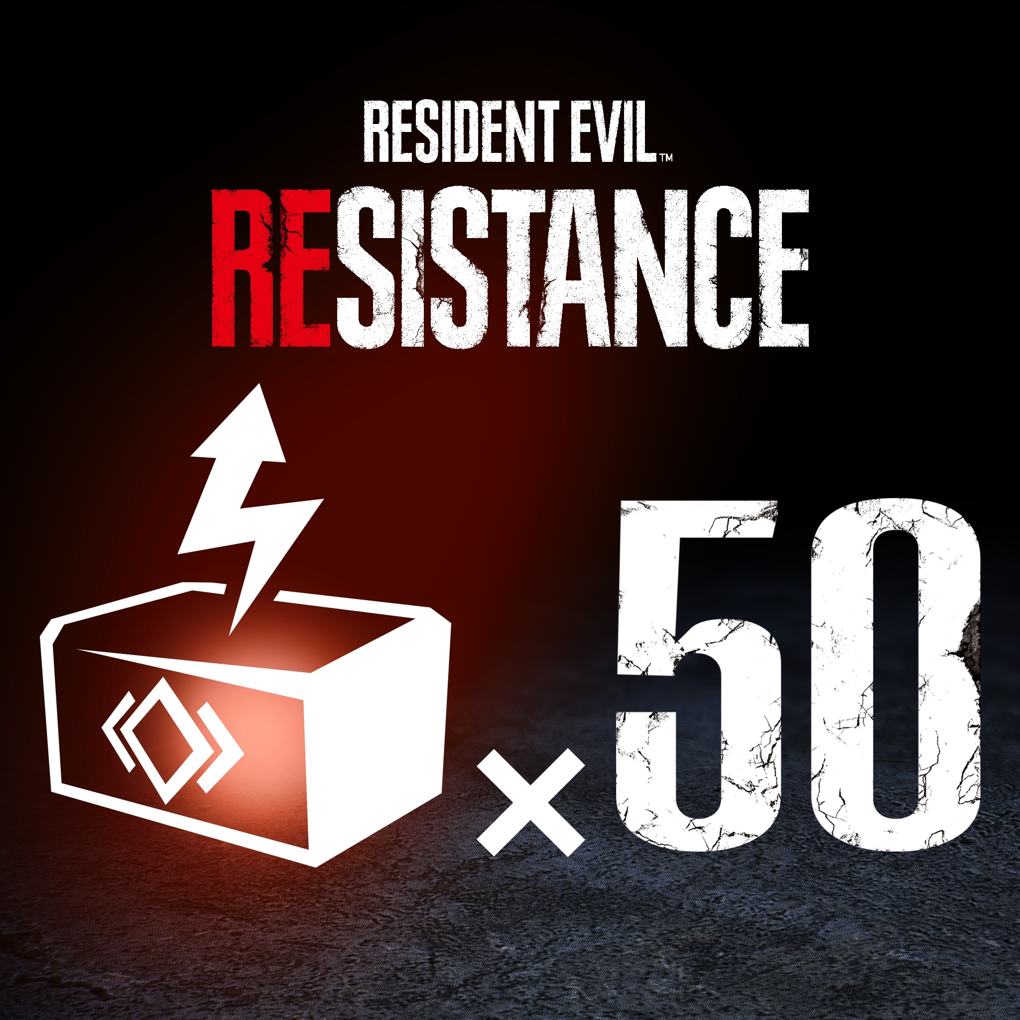 RESIDENT EVIL RESISTANCE - RP Booster 50-Pack