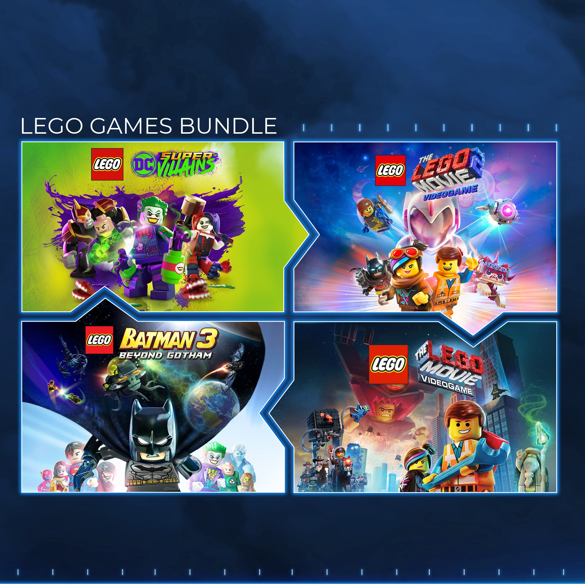 The LEGO® Games Bundle