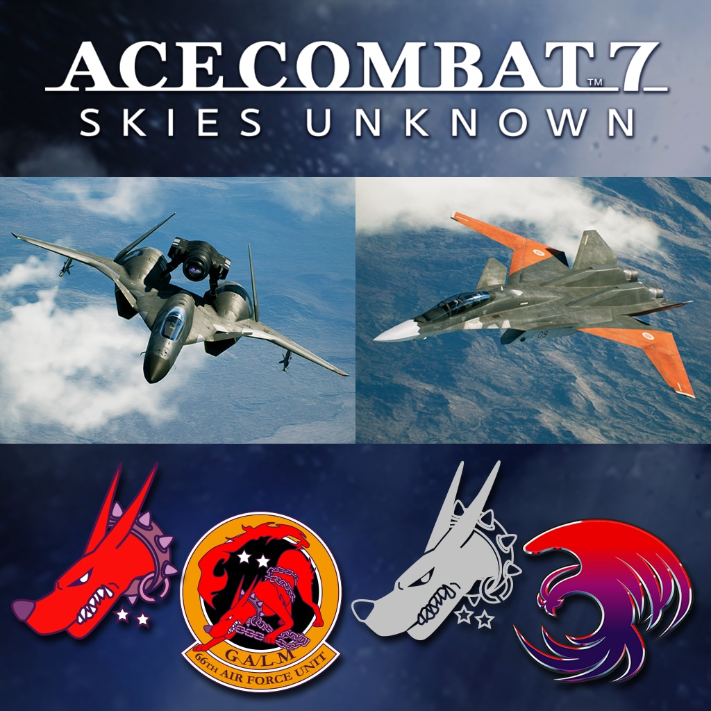 ACE COMBAT™ 7: SKIES UNKNOWN – ADFX-01 Morgan組合包 (中韓文版)