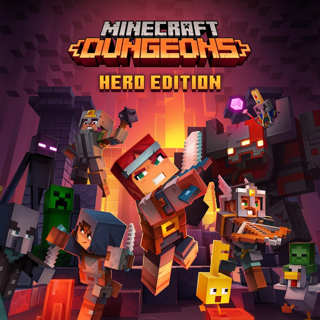 Minecraft Dungeons Hero Edition (Simplified Chinese, English, Korean, Japanese, Traditional Chinese)