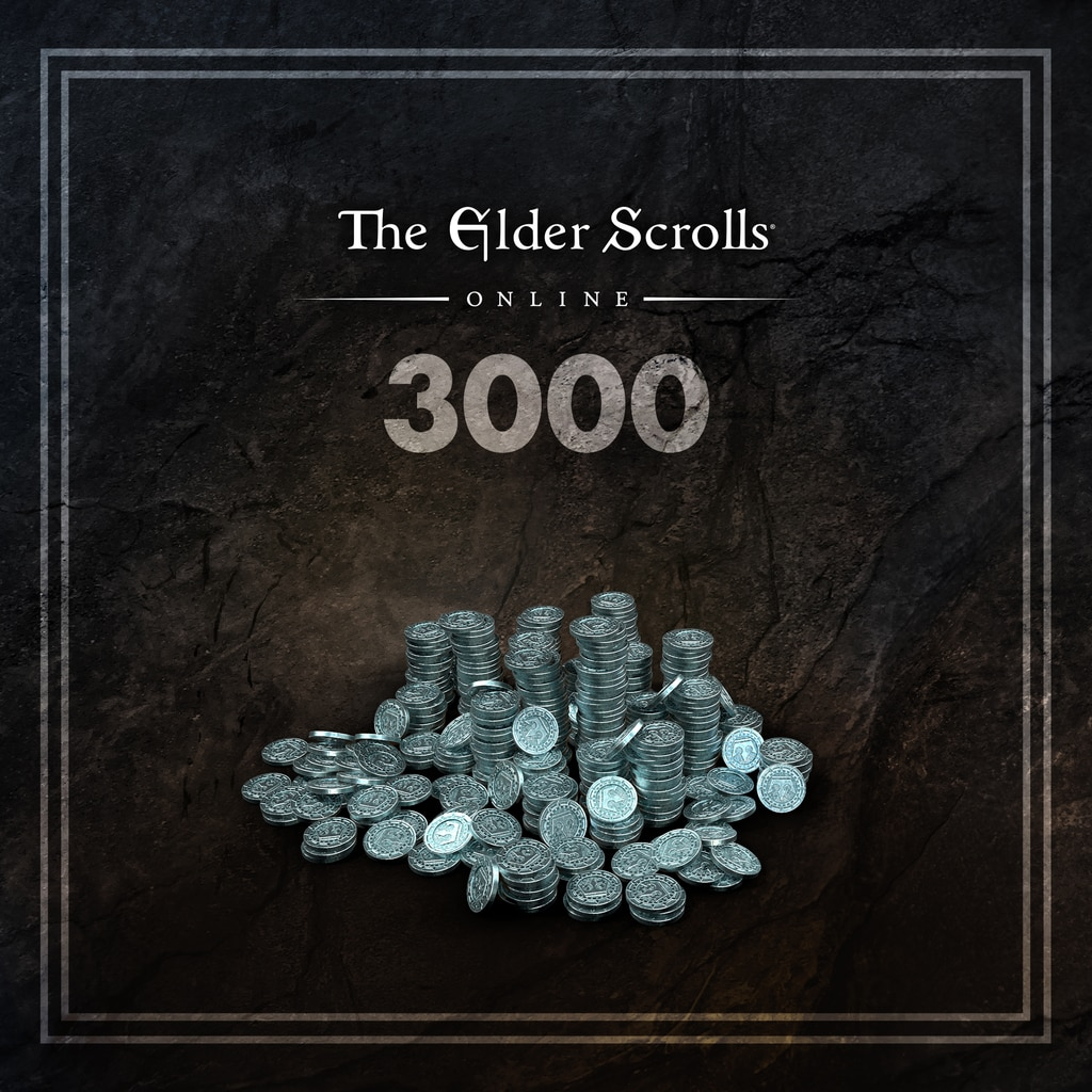 The Elder Scrolls® Online: 3000 Couronnes