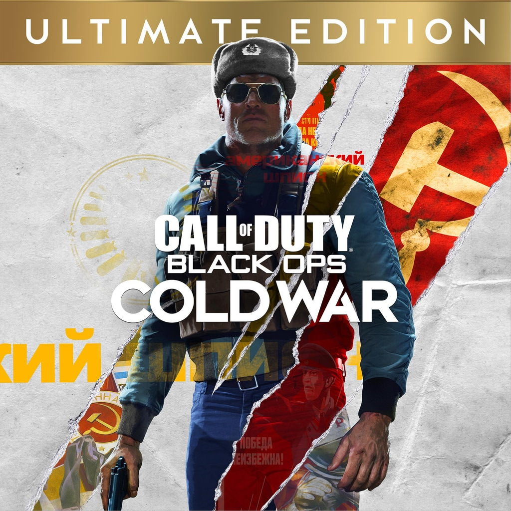 Call Of Duty Black Ops Cold War Ultimate Edition Ps4 Ps5