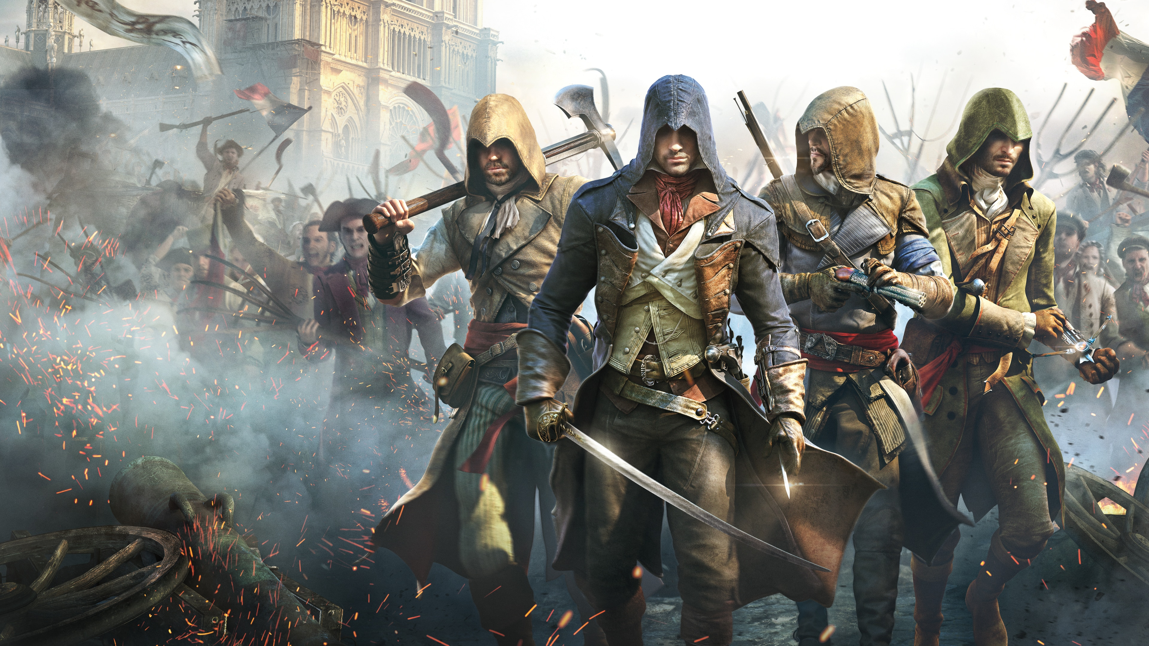 Assassin's Creed Unity - Digital Standard Edition (English/Chinese/Korean Ver.)