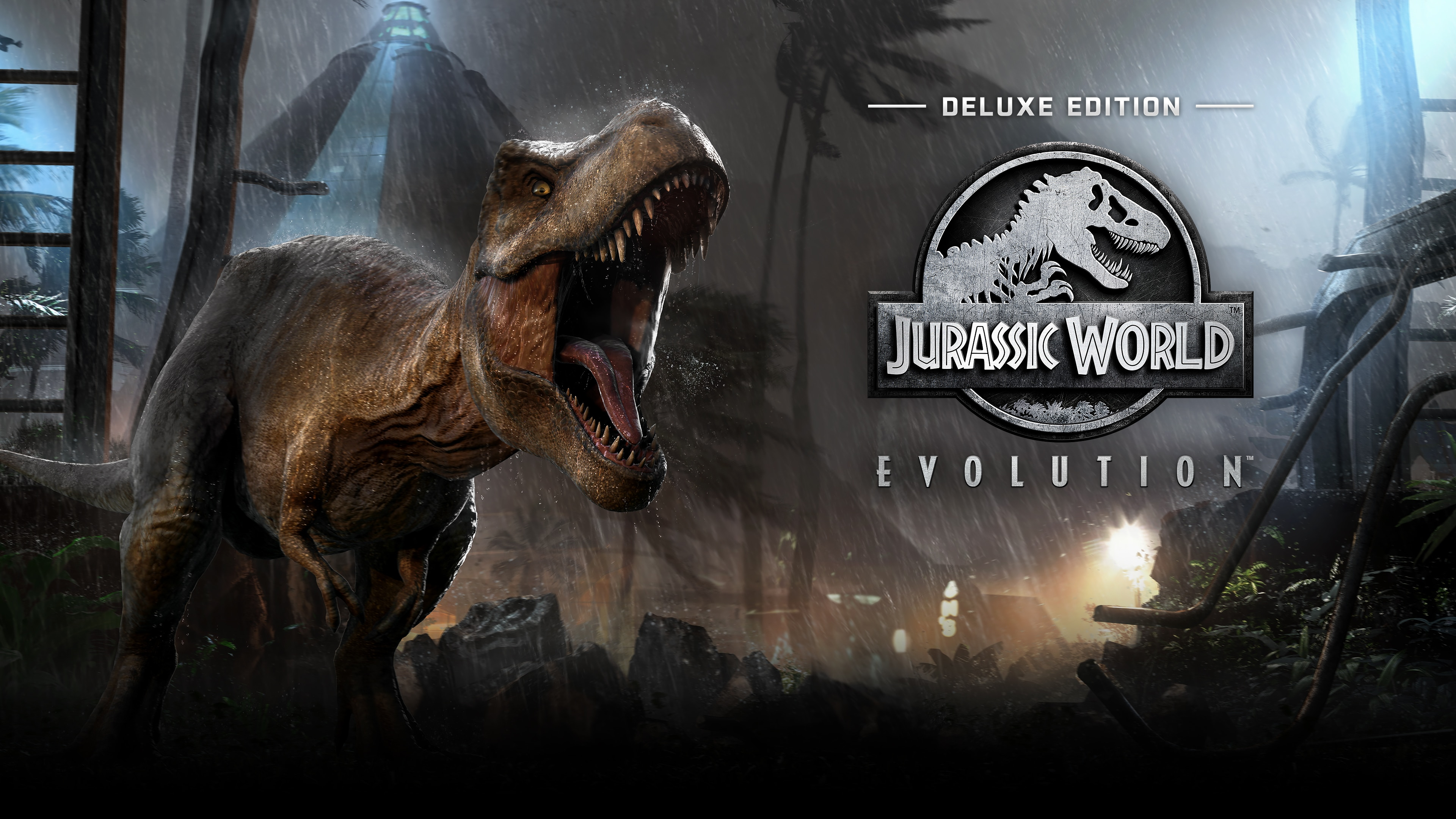 Edición Deluxe de Jurassic World Evolution