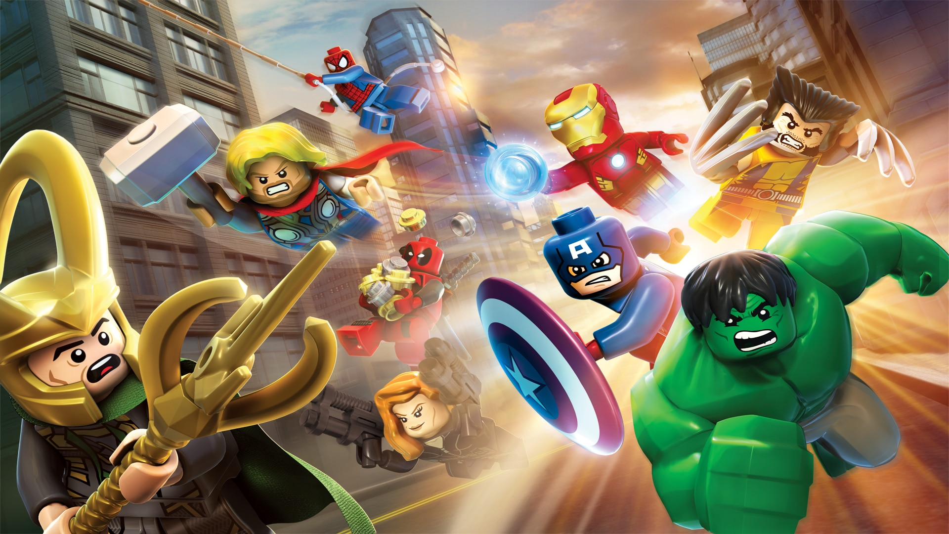 LEGO® Marvel™ Super Heroes full game (English Ver.)