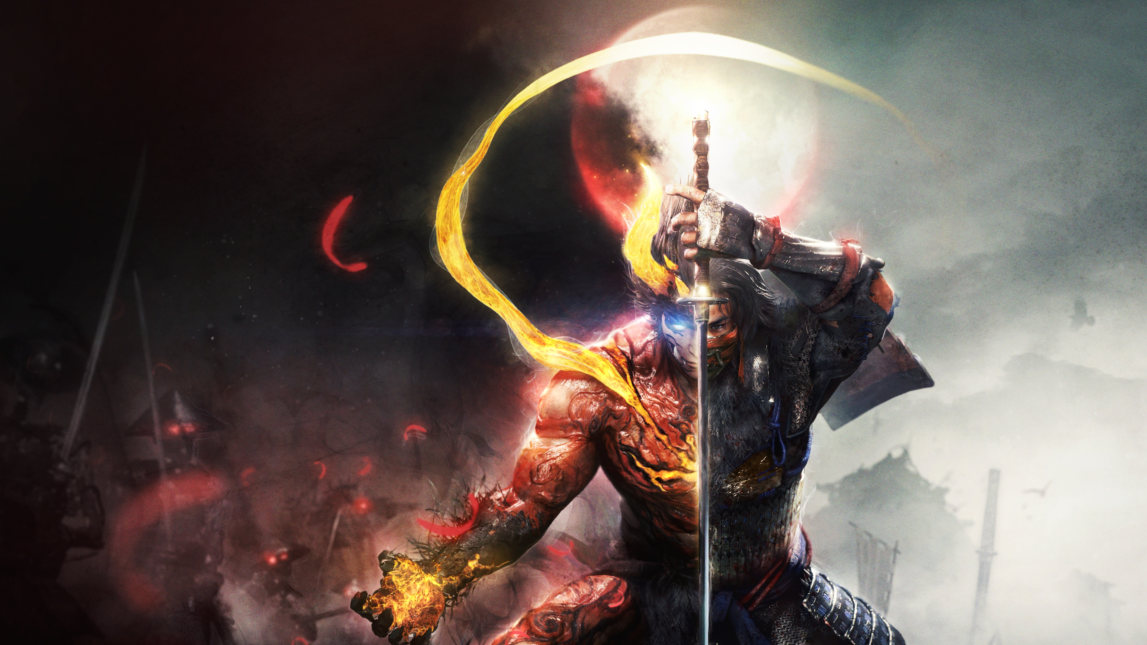 Nioh 2 Deluxe Edition (English/Chinese/Korean/Japanese Ver.)