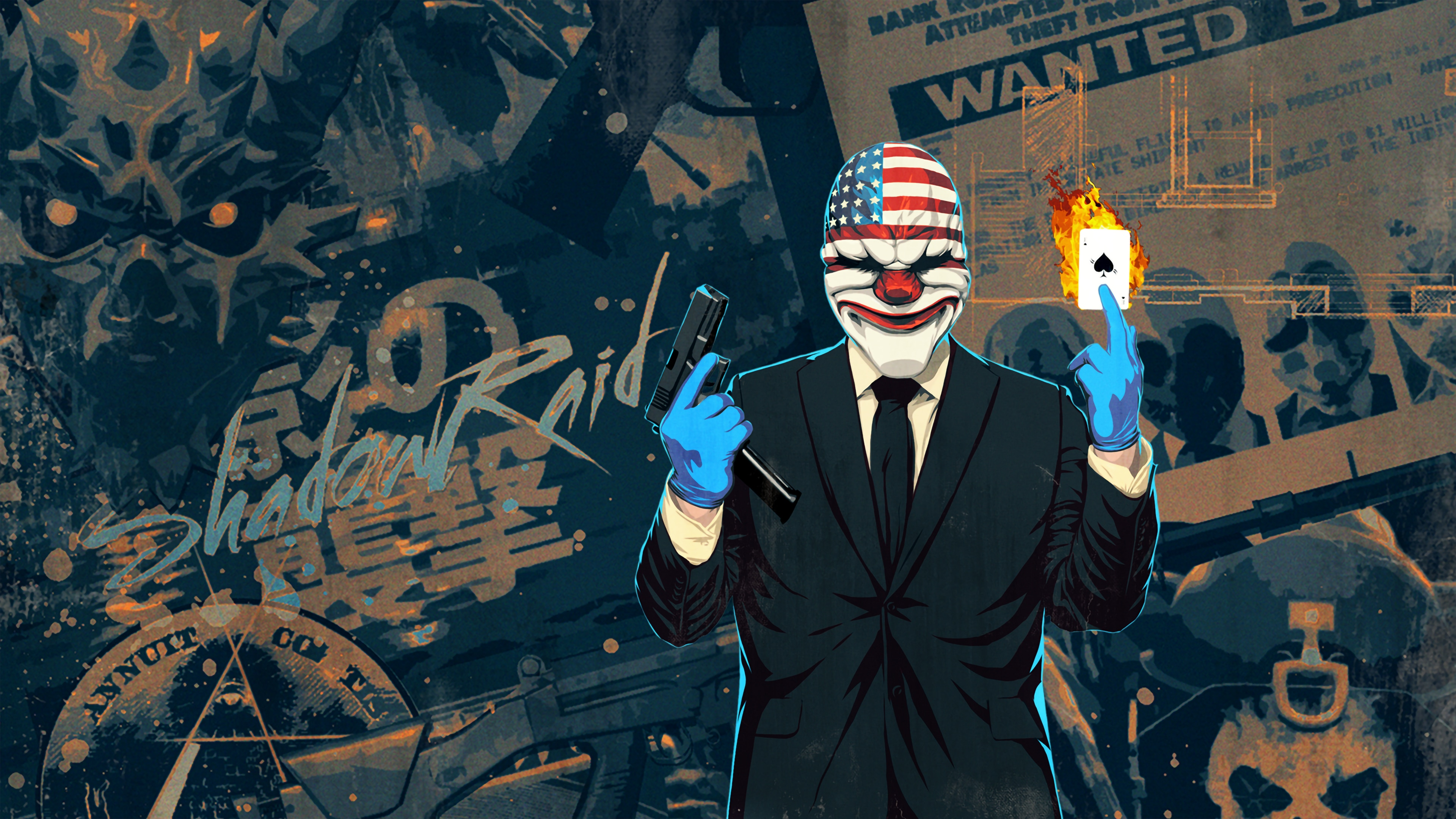 PAYDAY 2: CRIMEWAVE EDITION.