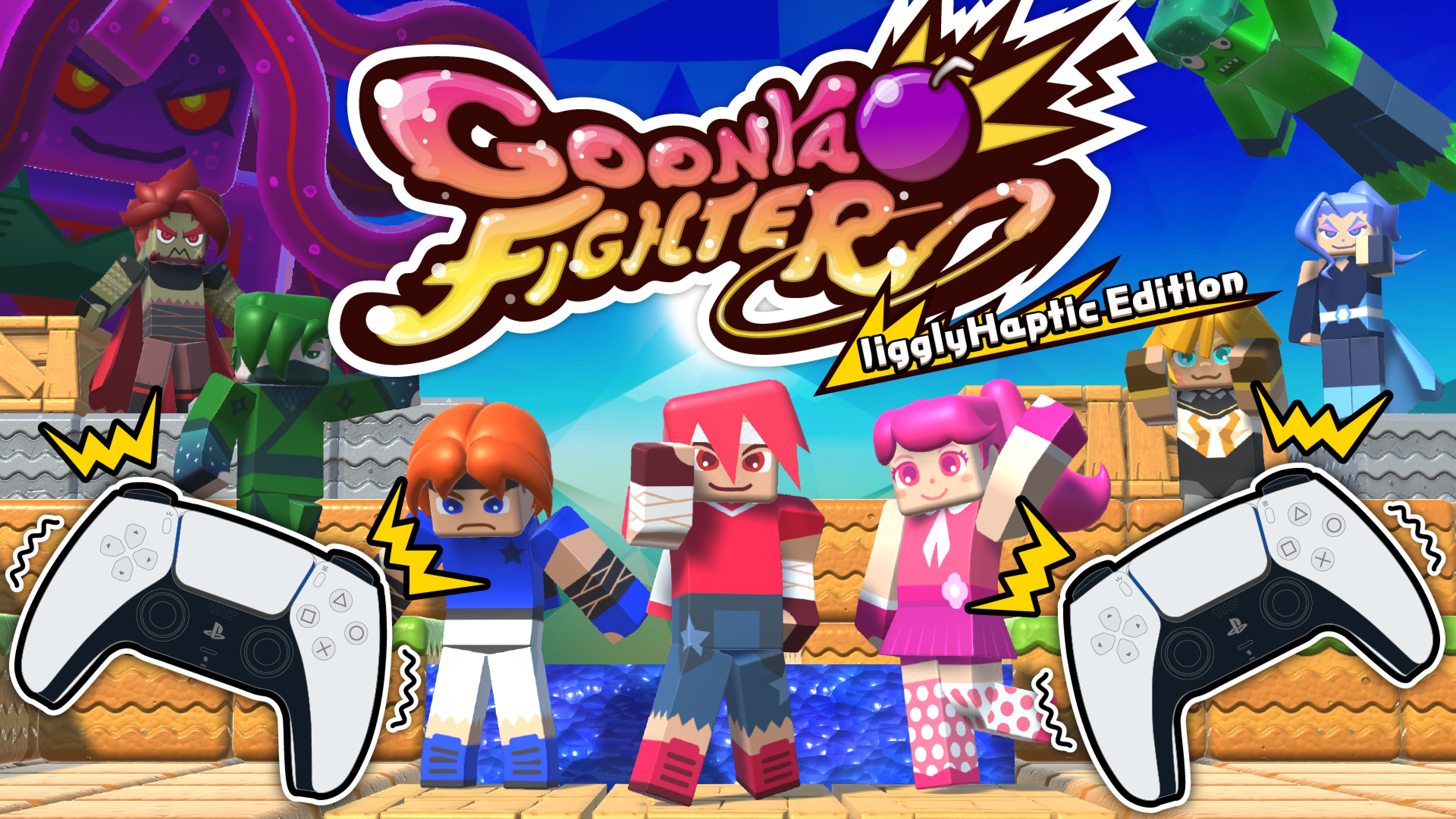 GoonyaFighter JigglyHapticEdition