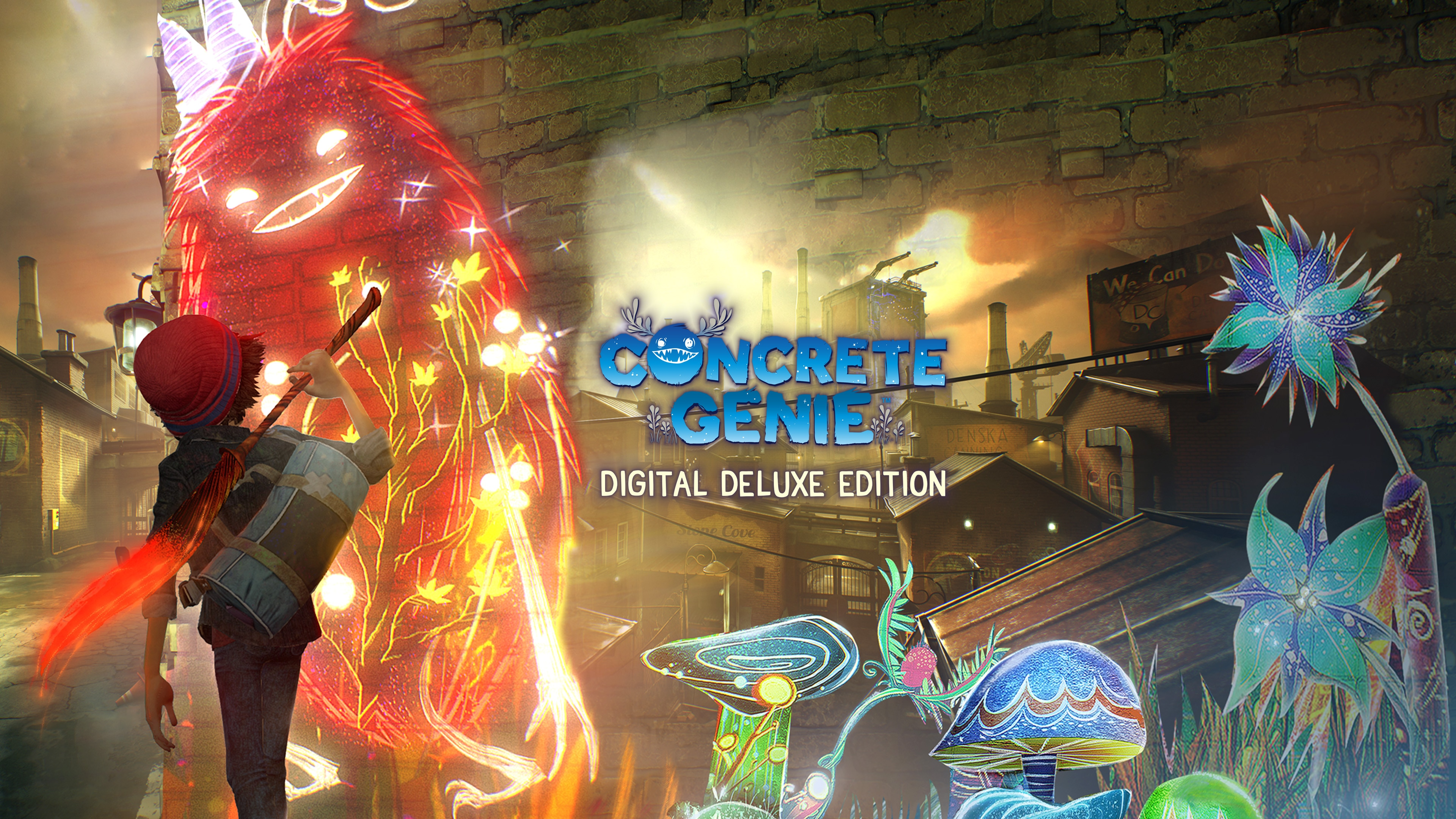 Concrete Genie Digital Deluxe Edition (English, Korean, Thai, Traditional Chinese)