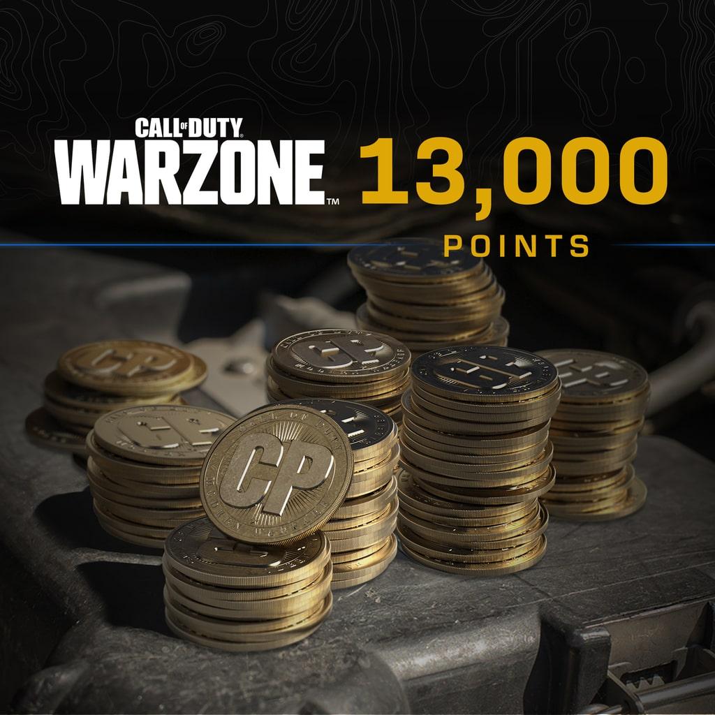 13.000 Call of Duty®: Warzone™ Puanı