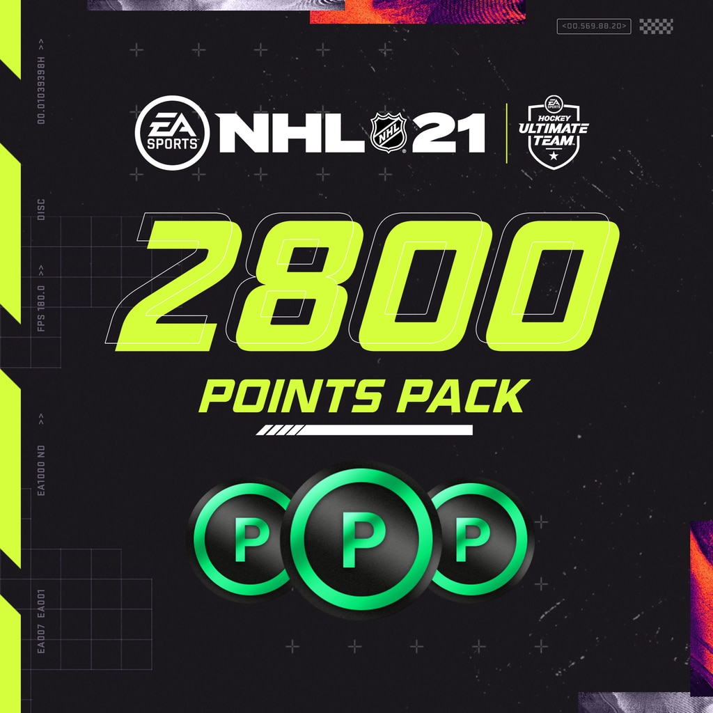 NHL® 21 2800 Points Pack