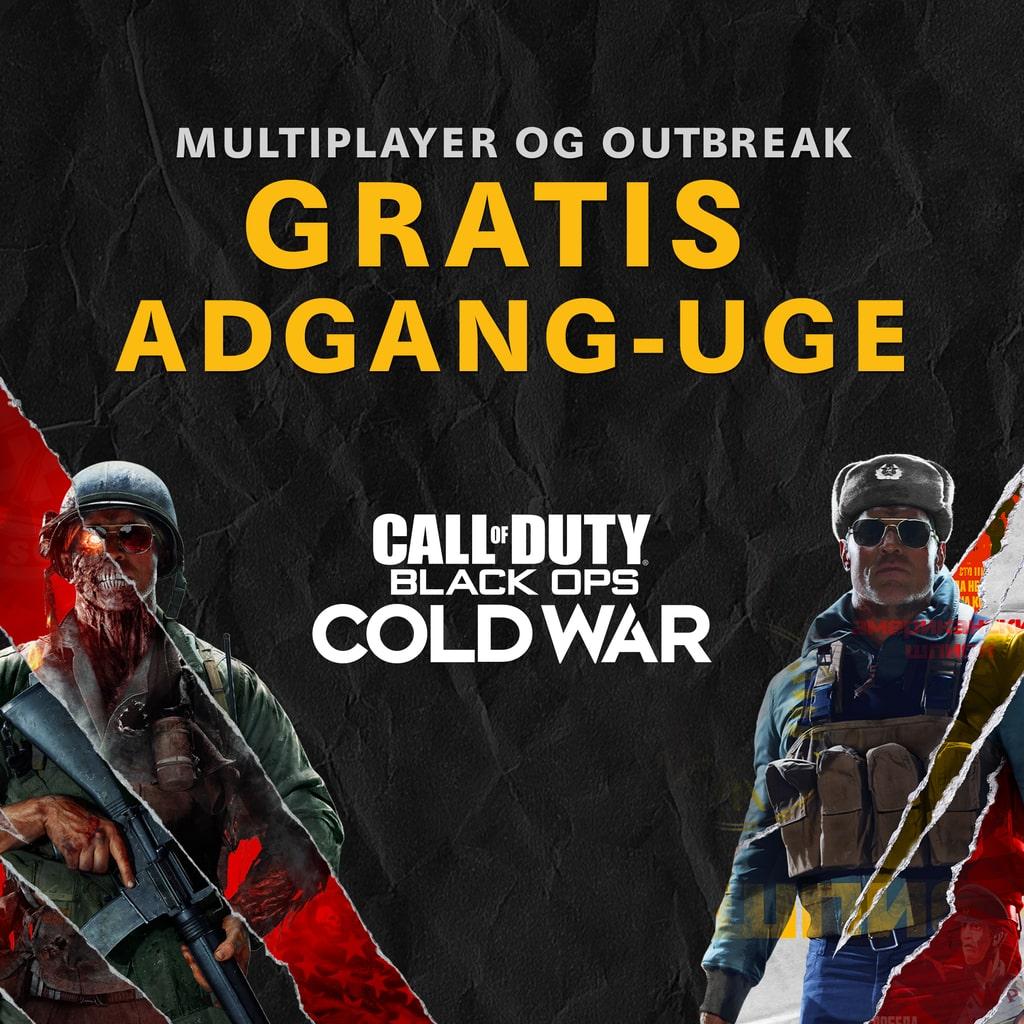 Call of Duty®: Black Ops Cold War - Gratis Adgang-uge