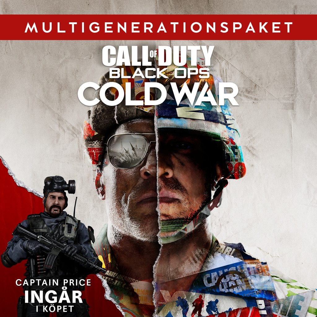 Call of Duty®: Black Ops Cold War - Multigenerationspaket PS4™ & PS5™